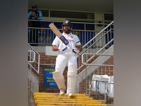 County Select XI vs Indians: Rohit and boys wear black armbands in Yashpal Sharma's honour