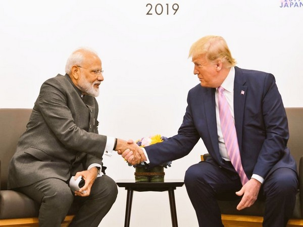PM Narendra Modi meets US President Donald Trump in French town of Biarritz.
