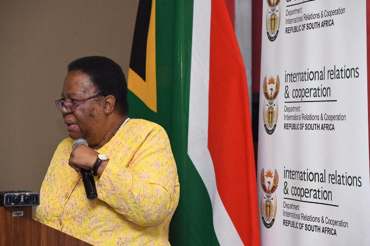 Naledi Pandor to lead SA at G20 Foreign Ministers' meeting