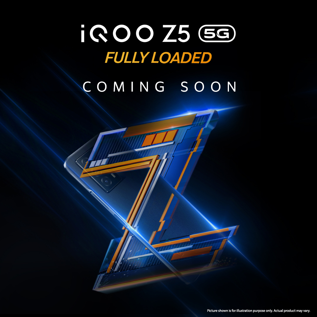 (Updated) iQOO Z5 5G first look revealed in new teaser poster; India launch happening soon
