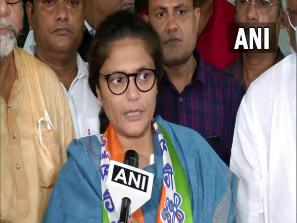 TMC candidate Sushmita Dev files nomination for West Bengal Rajya Sabha bypoll