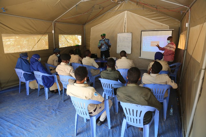 Training of Trainers course starts in Baidoa for South West State Police