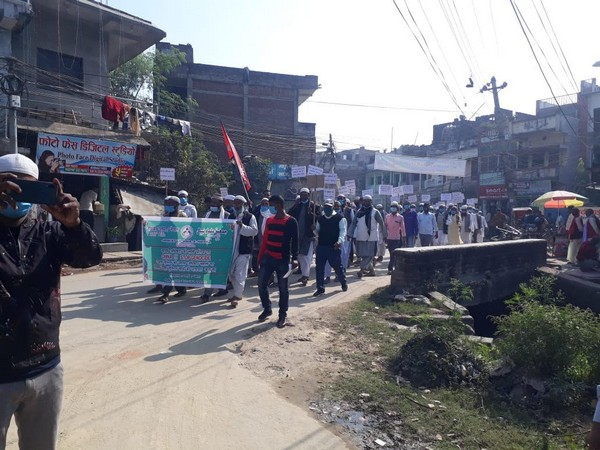 Muslims in Nepal hold anti-China protest to condemn Uyghur genocide