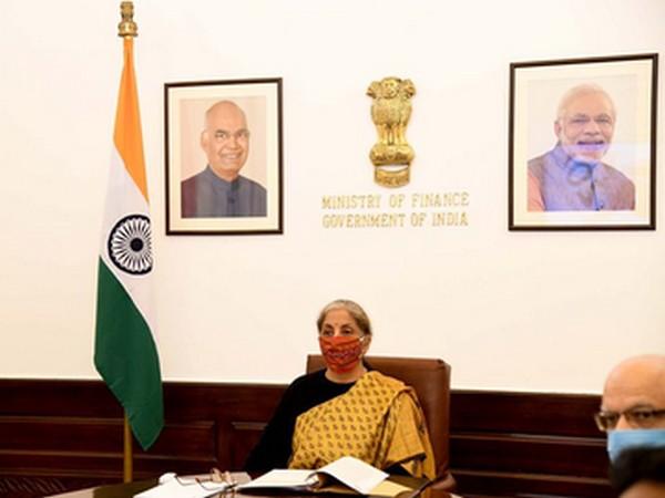 Finance Minister Nirmala Sitharaman attends G20 Finance Ministers' virtual meeting
