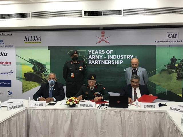 Indian Army & SIDM sign MoU to provide further impetus to indigenisation
