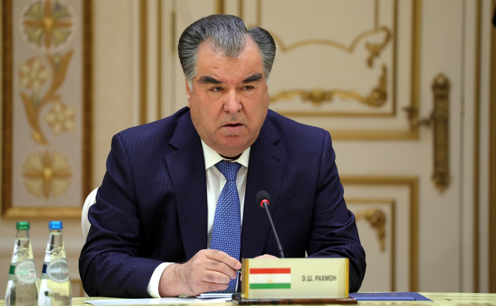 Tajikistan President calls for end on pop songs heaping praise upon him