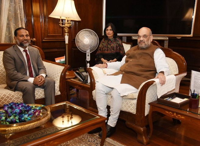 Home Ministers of India, Maldives welcome expansion of bilateral cooperation
