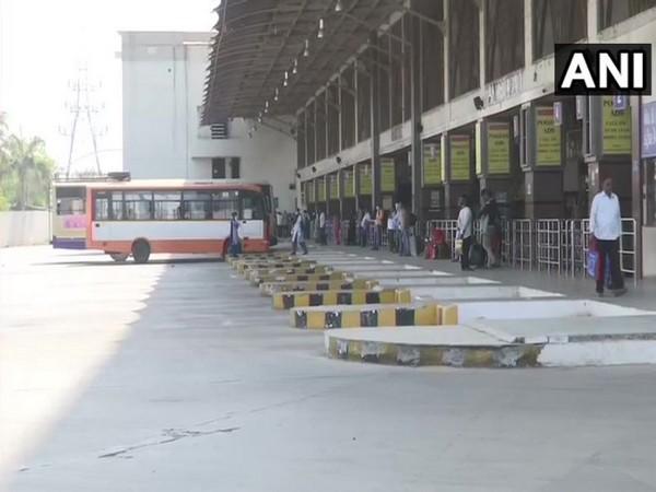 Few passengers at Ahmedabad bus terminal ahead of Janta Curfew