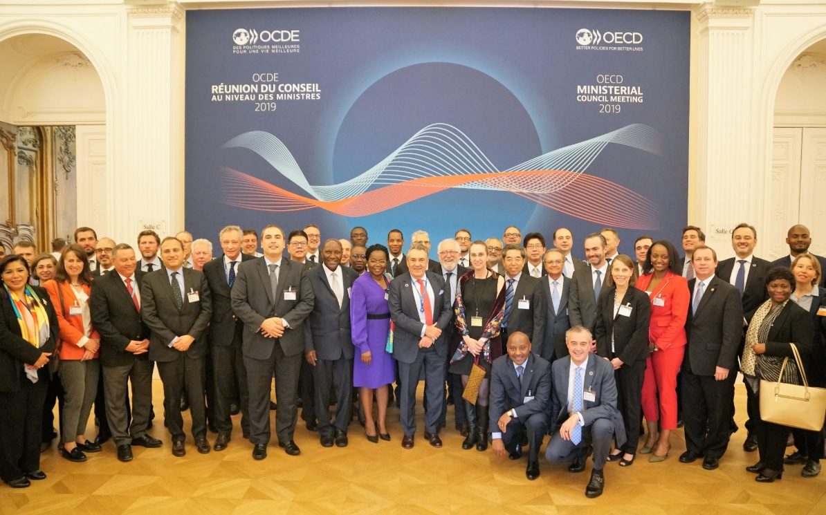 Rwanda becomes member of OECD Development Centre, Minister shares plan at ongoing Forum