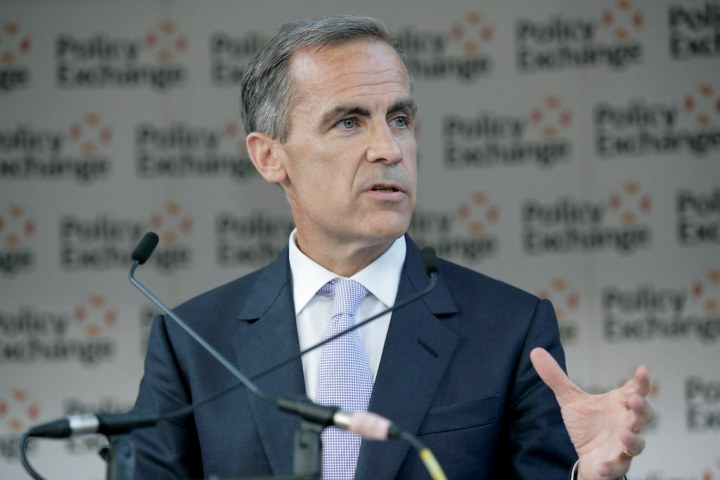 HIGHLIGHTS-Bank of England's Carney speaks about Brexit, technology and climate change