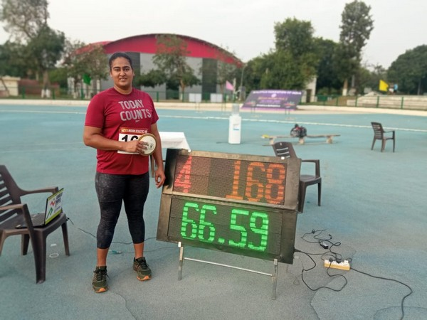 Tokyo-bound discus thrower Kamalpreet improves on own National Record with 66.59m throw