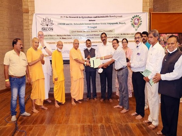 ISKCON and DBSKKV University join hands to revolutionize agriculture and farming in Maha's Palghar