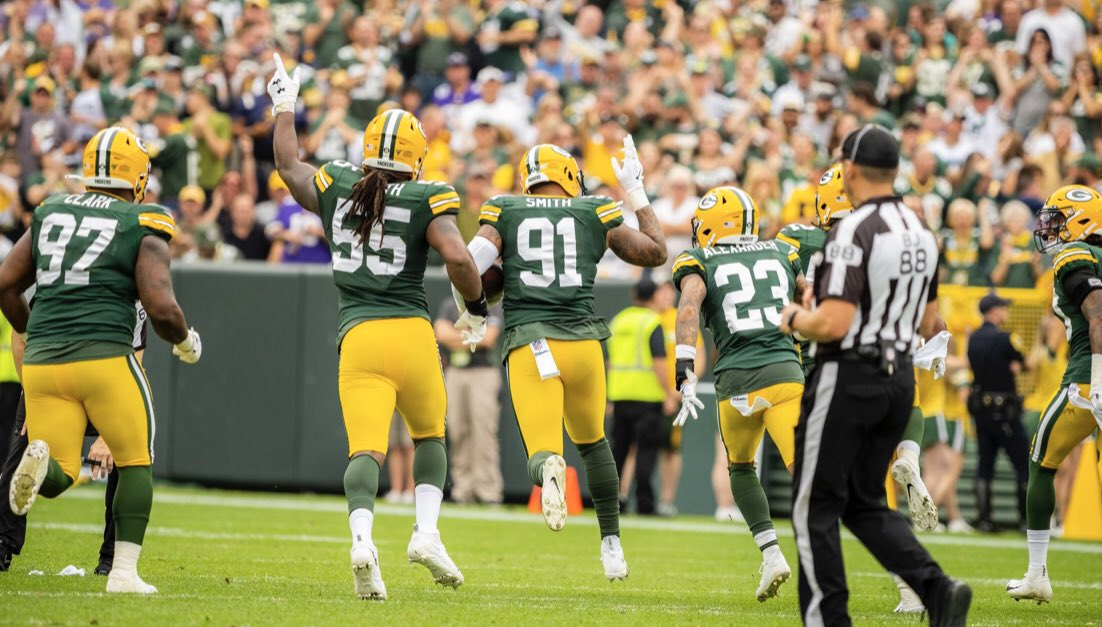 Packers freeze out Panthers at the finish