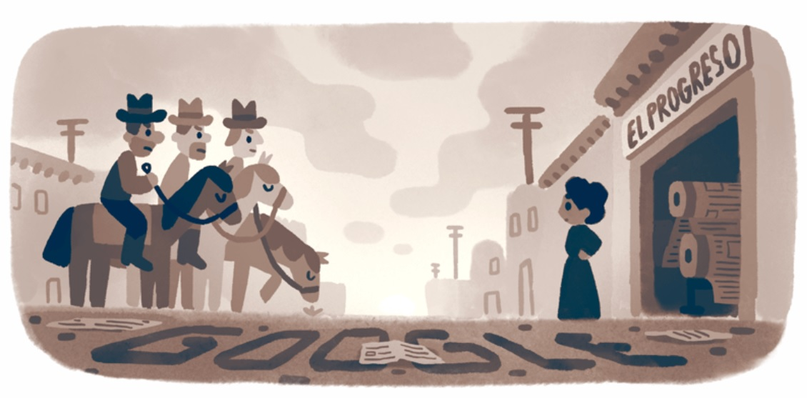 Jovita Idár: Google doodle on Mexican-American journalist, civil right activist