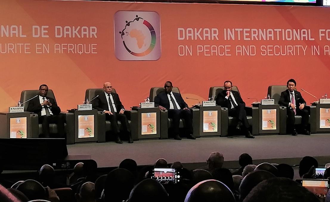 Senegal's President Sall raises multiple issues including terrorism at Dakar International Forum