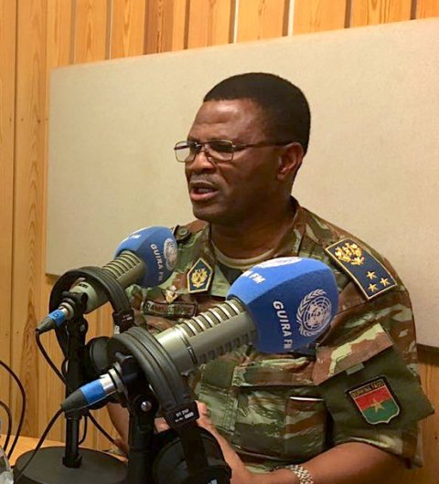 Lt Gen Daniel Sidiki Traoré appointed as force commander of UN mission in CAR