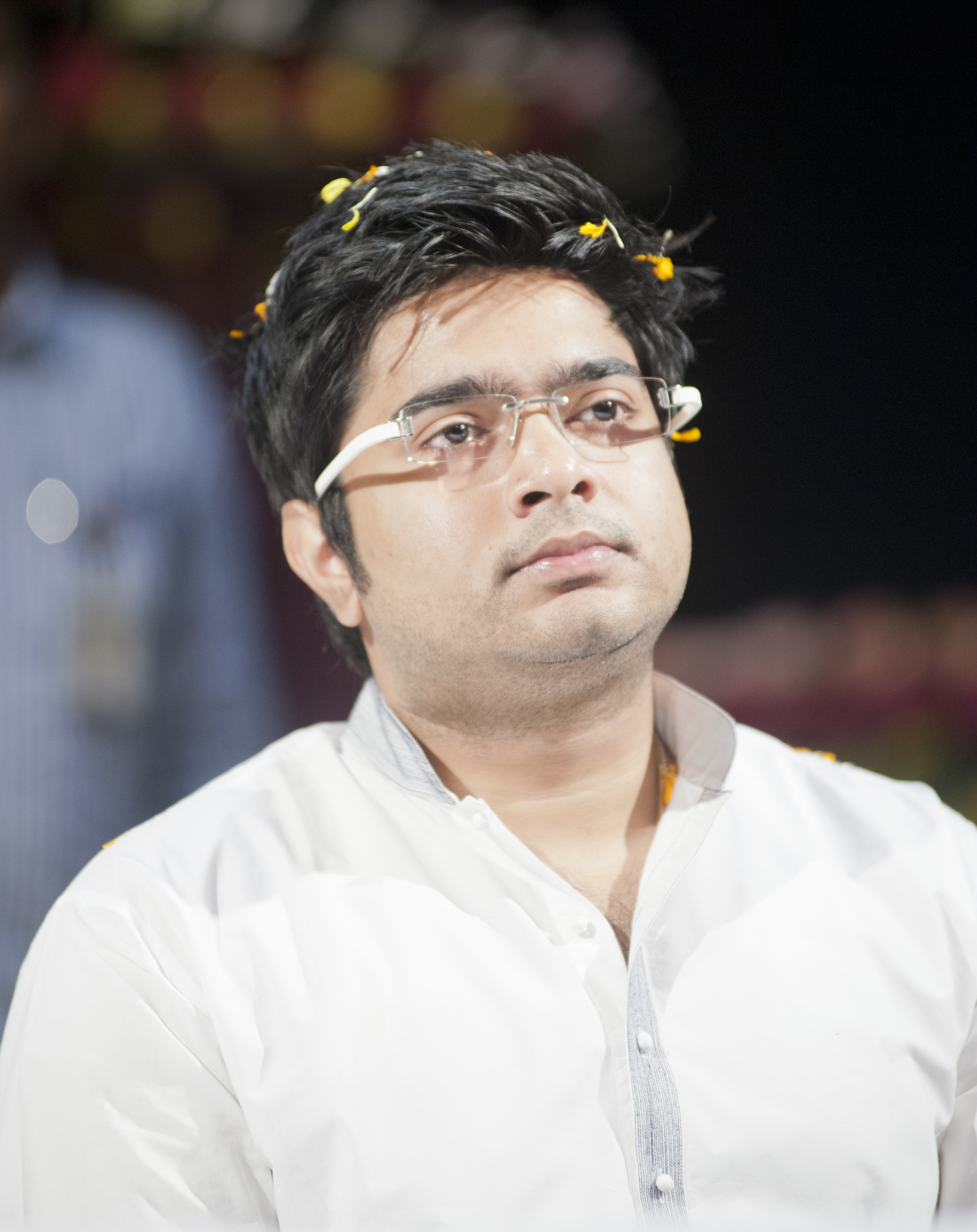 Water poured at helipad to prevent me from coming to Matua stronghold Thakurnagar 2 days ago: TMC MP Abhishek Banerjee.