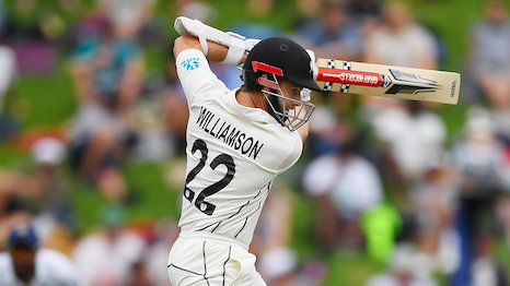 UPDATE 2-Cricket-Williamson shakes off injury as NZ move into strong position
