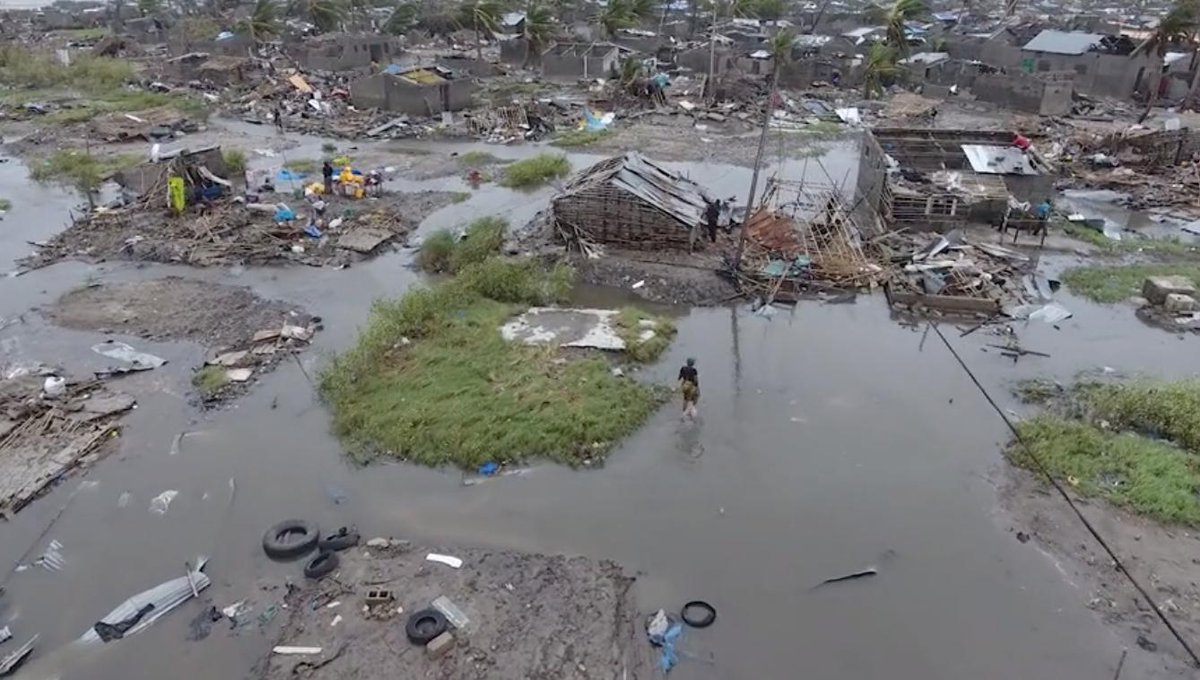 USD 3.2 bln needed just to repair damage caused by Cyclone Idai in Mozambique