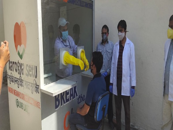 IIT Roorkee develops telephone-style COVID-19 screening booth, donates it to Roorkee Civil Hospital