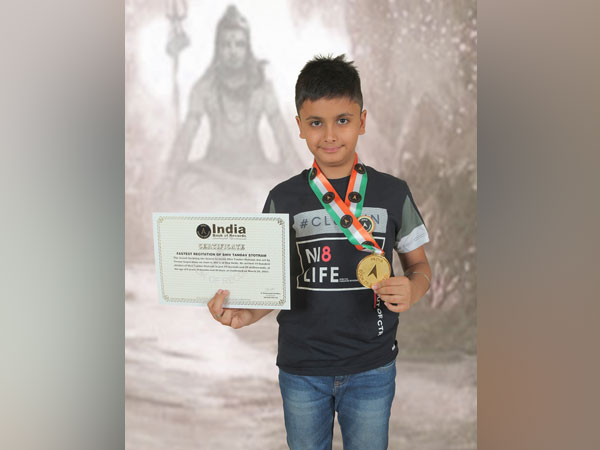 Delhi's Vivaan Gupta, 9 yrs old becomes the fastest to recite Shiv Tandav Stotram