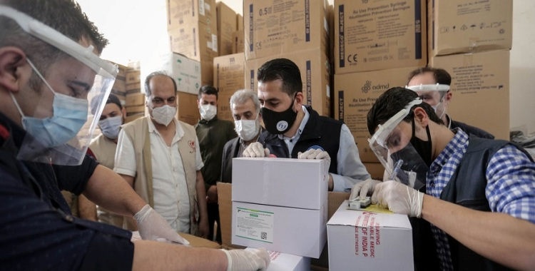 Syria receives first COVID-19 vaccines, for most vulnerable