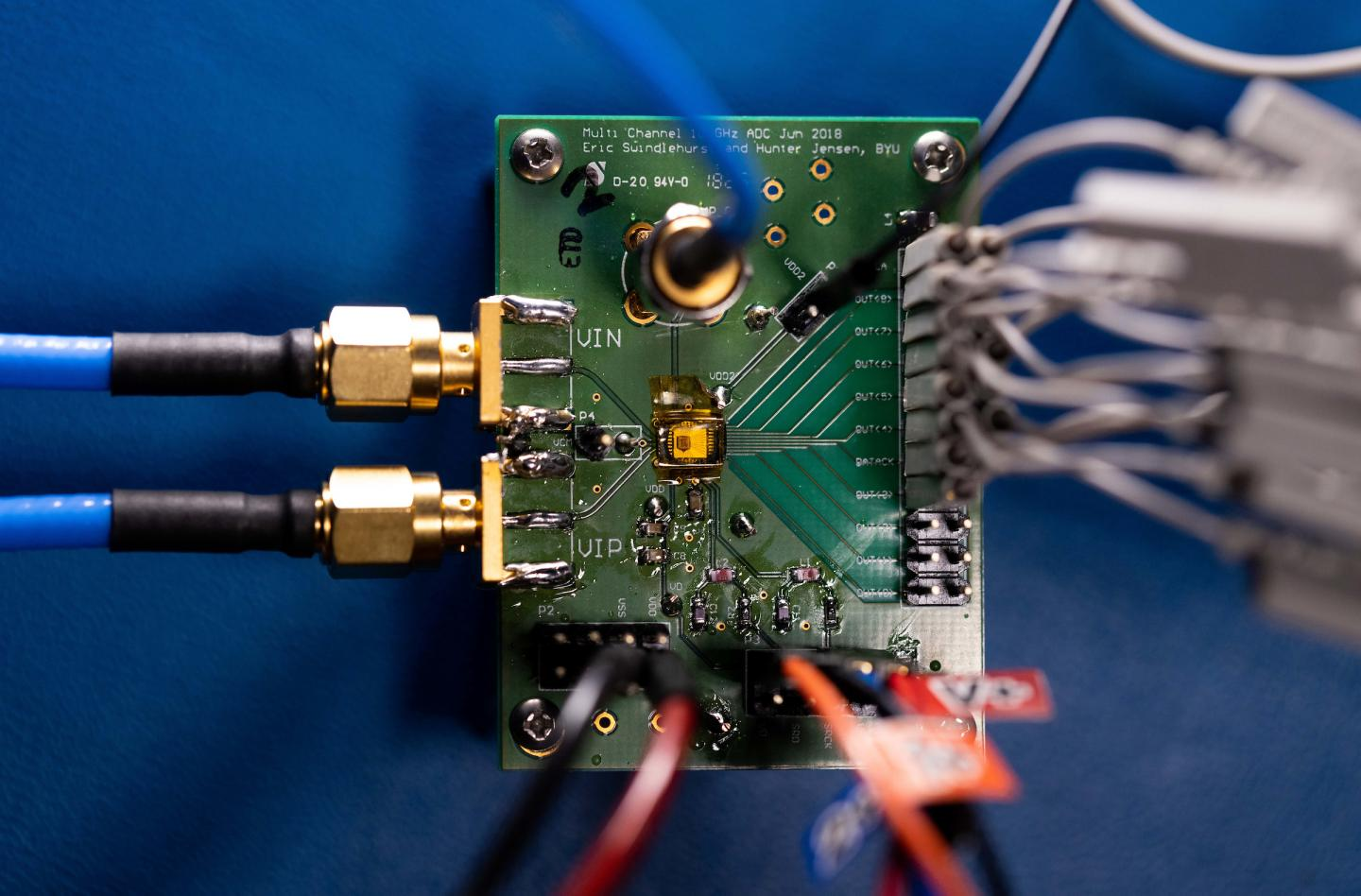 BYU-led research team develops world's most power-efficient ADC microchip