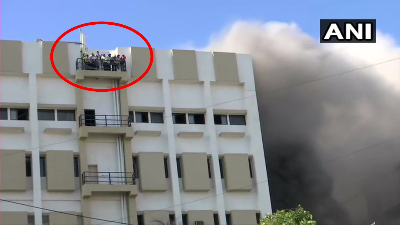 Watch: Massive fire at MTNL building in Mumbai; some rescued but dozens trapped inside