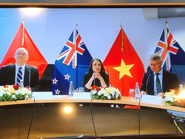 Prime Ministers New Zealand and Viet Nam meet virtually to boost partnership