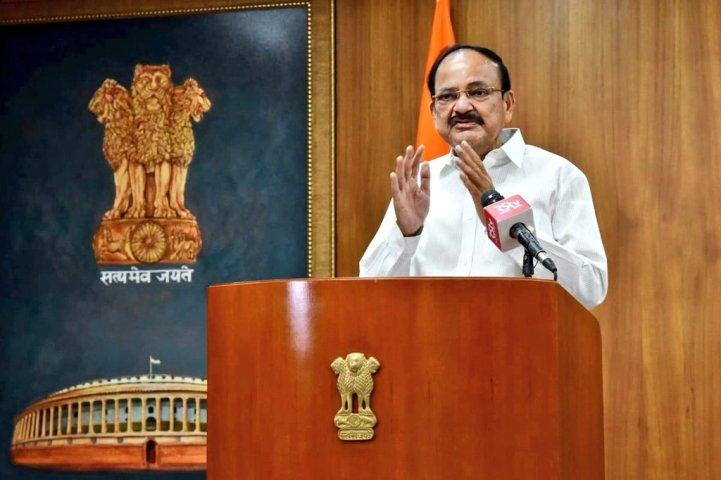 People's campaign necessary to save parliamentary democracy: VP Naidu