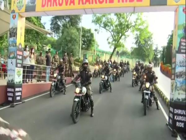 Army organises motorcycle rally to commemorate Kargil Vijay Diwas