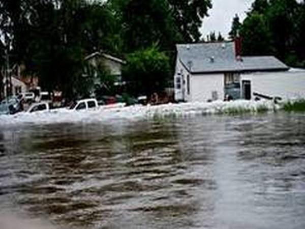 Heavy rains cause flooding in northeastern Turkey