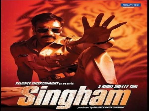Ajay Devgn gets nostalgic as 'Singham' clocks 10 years