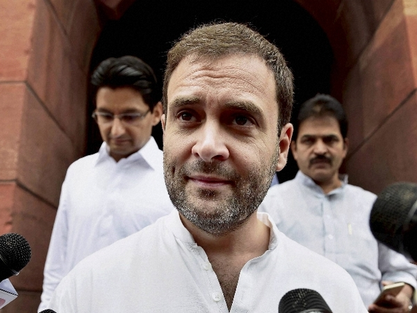 Rahul Gandhi takes dig at Centre, says writing truth enough to intimidate 'weak government'