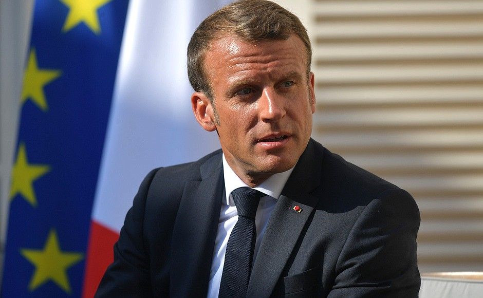 French President urges global leaders to support agricultural development
