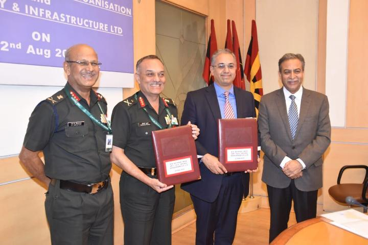 MoU signed between Indian Army and Tata Realty & Housing