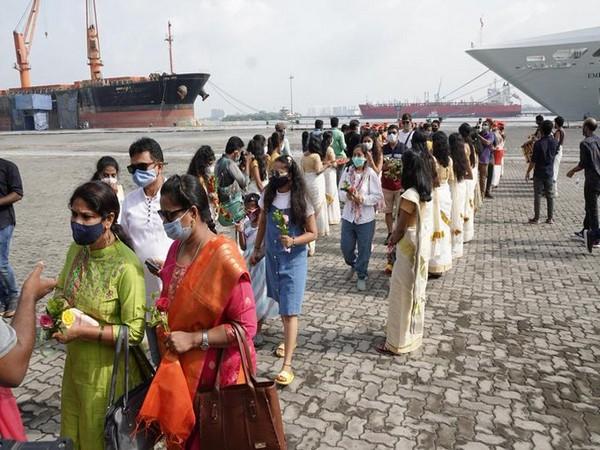 Tourism revives in Kerala: Luxury liner docks at Kochi