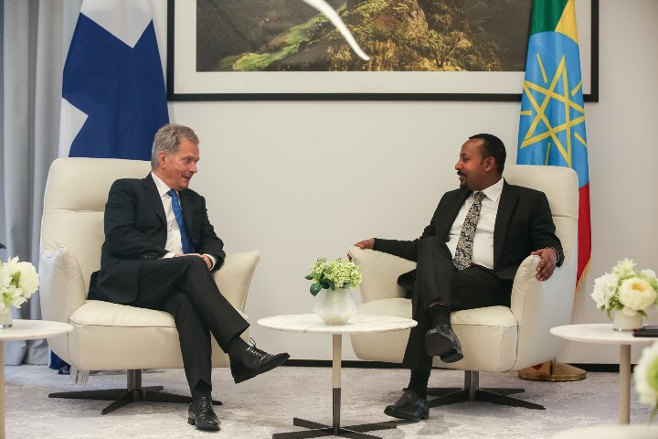 Finland and Ethiopia sign four agreements during visit of President Niinistö