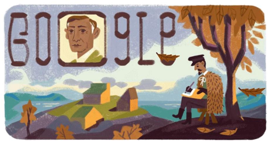 Ivan Bunin: Google doodle on Russian novelist, Nobel Prize winner's 150th birthday