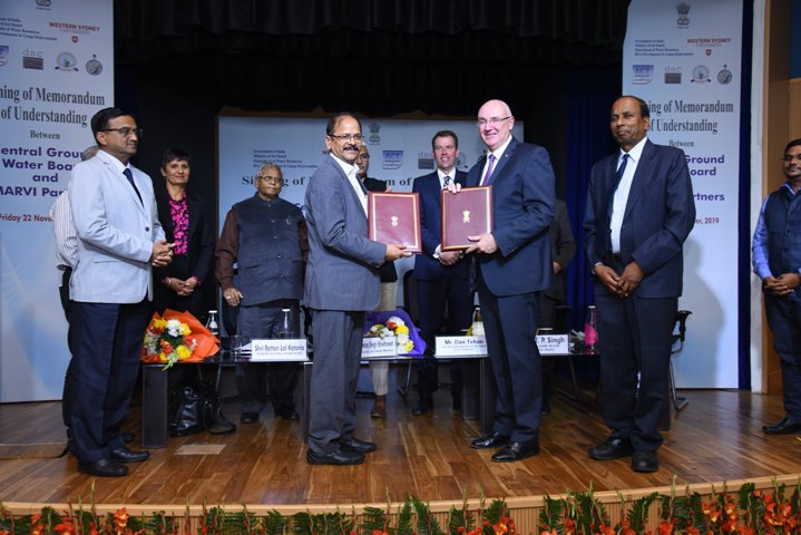 Central Ground Water Board signs MoU with Australia's MARVI Partners