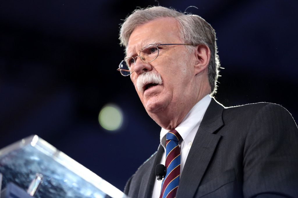 UPDATE 3-Ex-Trump ally Bolton says Twitter account 'liberated' from White House control