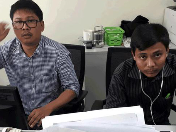Journalists walk free after 500 days captivity for reporting atrocities on Rohingyas