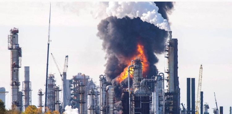 Building set on fire in protest against China's CNPC in Peru