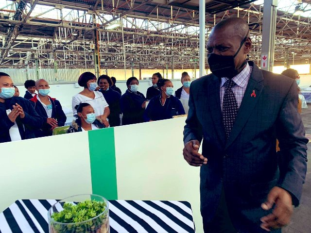 South Africa's health minister tests positive for COVID-19