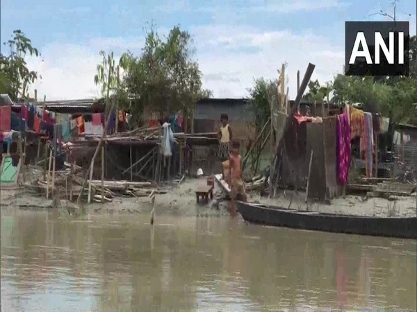 Assam floods: Over 95 families living in temporary shelters in Dibrugarh