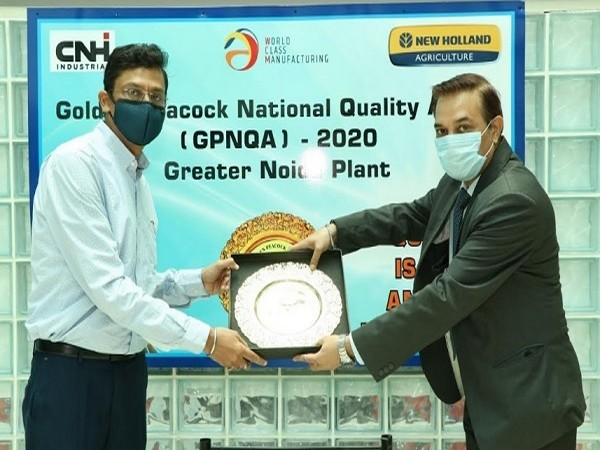 The New Holland Agriculture Plant in Greater Noida Wins Coveted Golden Peacock National Quality Award