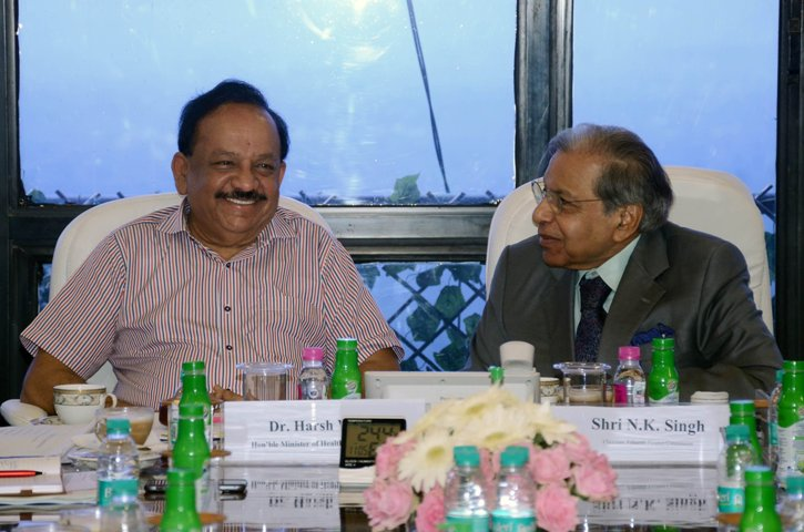 Finance Commission holds meeting with Health Minister and senior officials