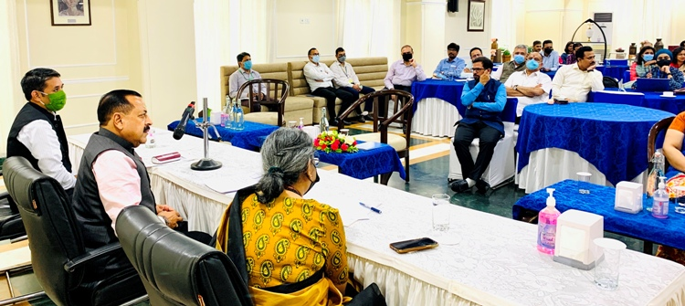 Adopting integrated approach helps one in diverse capacity building: Dr Jitendra Singh