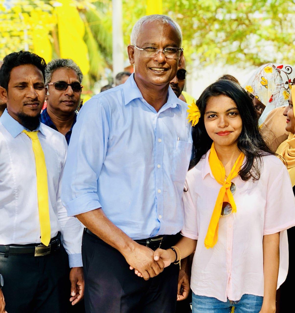 Maldivian president hopes to win more seats to overcome coalition pressure