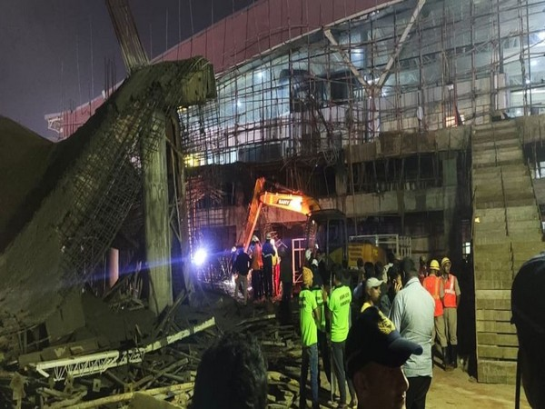 1 dead, 1 injured after under-construction roof collapses at Bhubaneswar airport